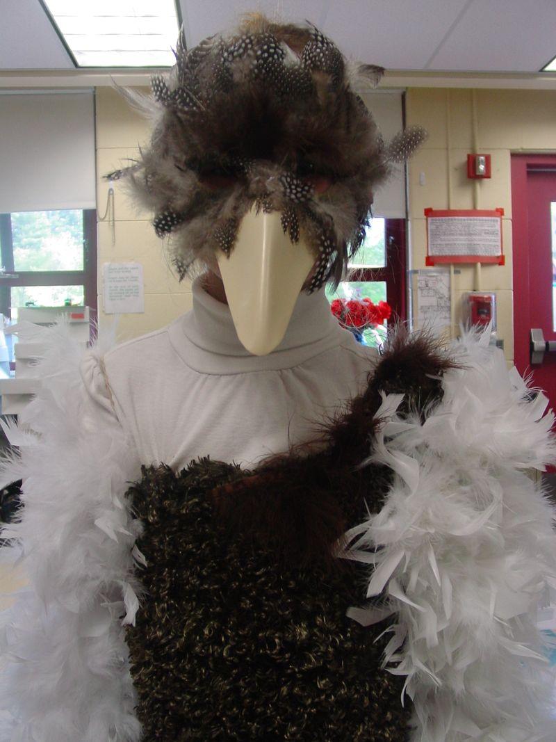 Ella the ostrich
